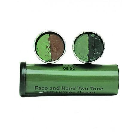 Camouflage paint tube
