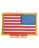 US flag Patch color