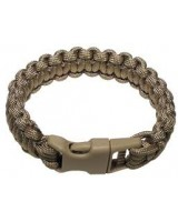 Color Survival Bracelet coyote