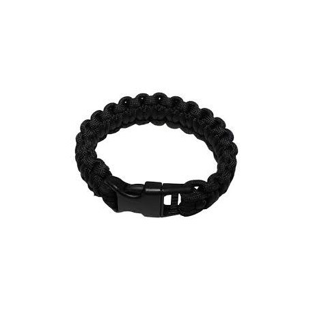 Survival bracelet black
