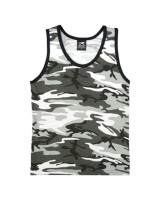 Sleeveless urban camouflage