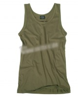 Camiseta interior verde oliva