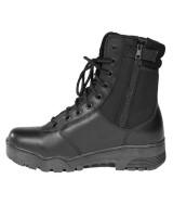 Tactical Boots Leather / corduta W-ZIP