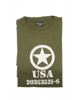 ALLIED STAR T olive green