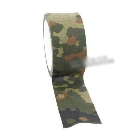 Camouflage cloth tape flecktarn 10 m