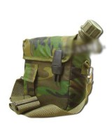 2 ct Import camouflaged canteen with cover
