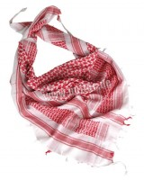 Red-white handkerchief shemag