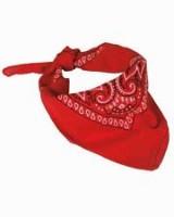 Bandana Western rojo